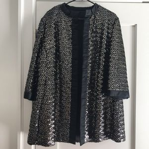 Vintage sequin coat